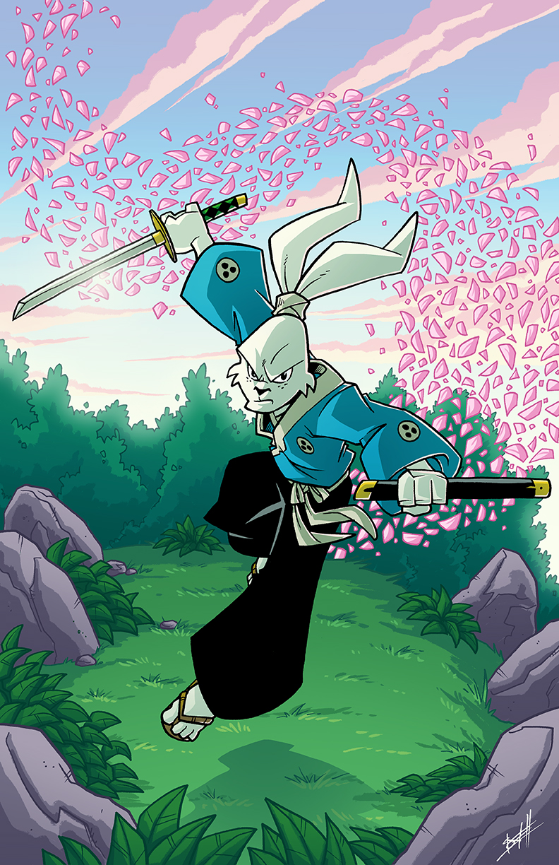 Usagi Yojimbo by natelovett