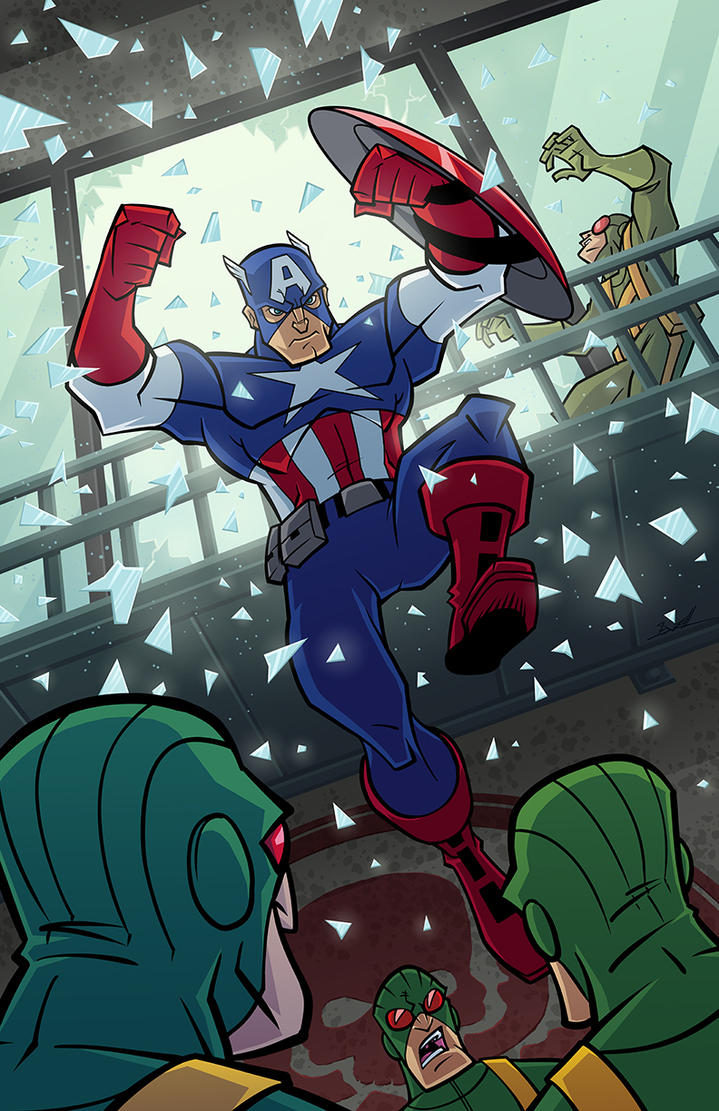 Captain America by natelovett
