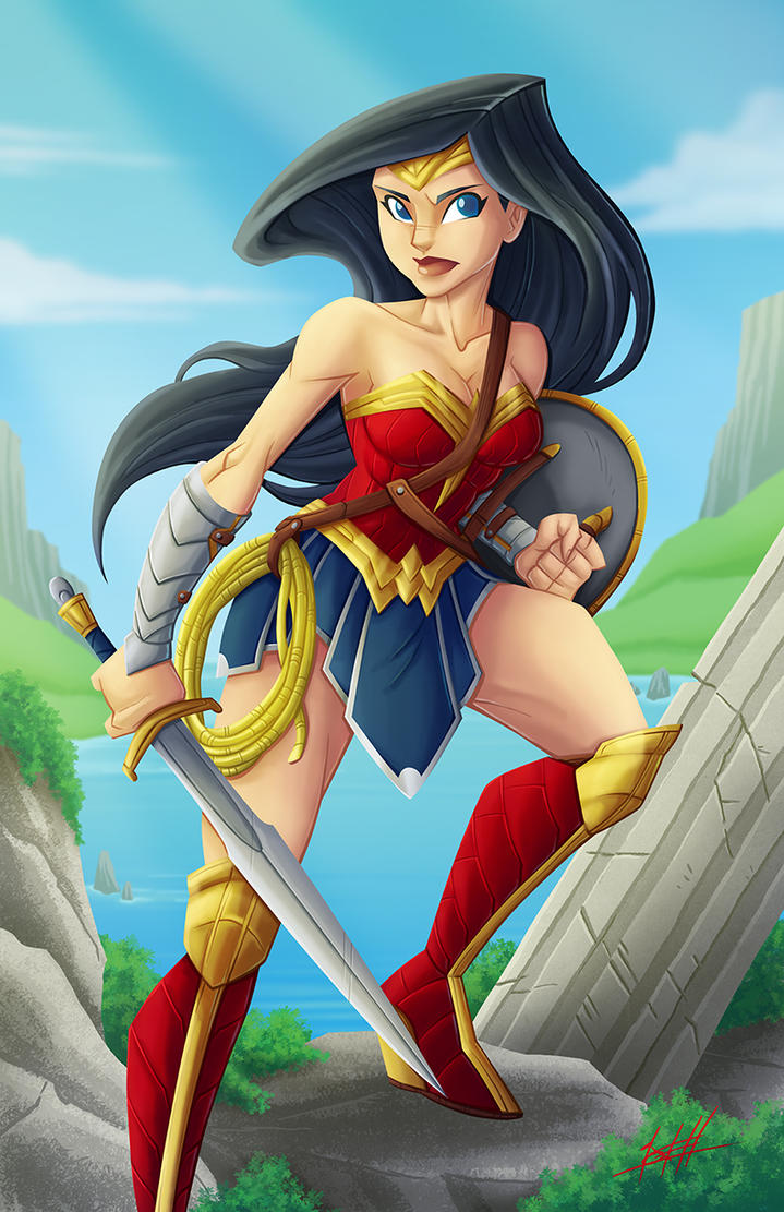 Wonder Woman by natelovett