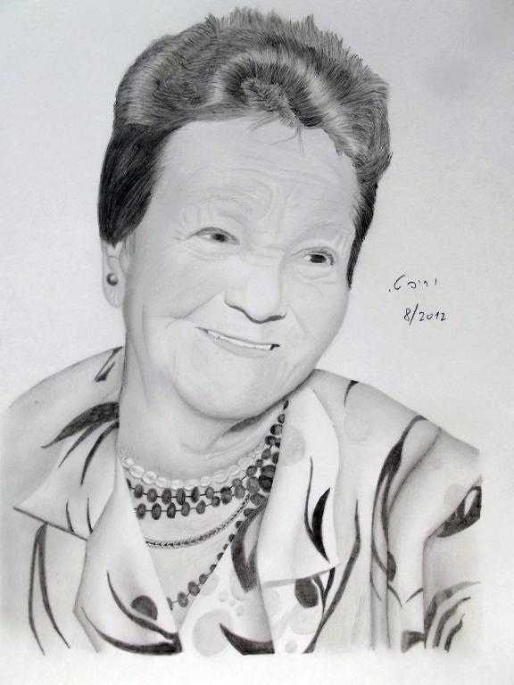 Grandma's Portrait by yarivt