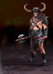 Double Axed Warrior