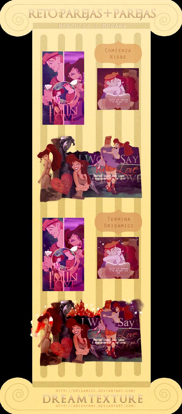 Hercules y Megara by AriesYami
