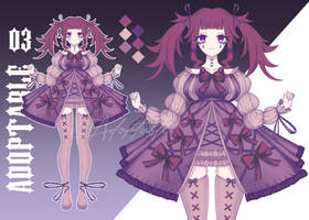 Adoptable Auction [OPEN] #3 by FusakoEf