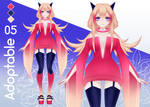 Adoptable Auction [OPEN] #5 by FusakoEf