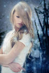 Book Cover-- Snow Dance