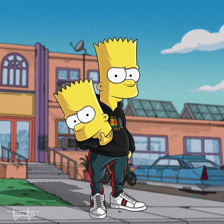 Simpsons Wallpaper Gucci Fitrinis Wallpaper