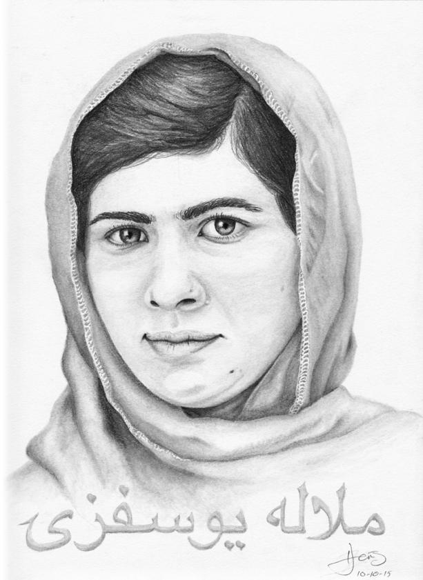 Malala Yousafzai by MovableType