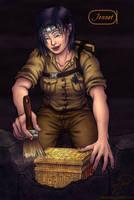 Jennison 'Jennet' Edwards - Archaeologist