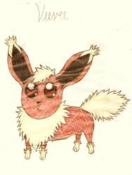 My Original Pokemon - Veevee by Aikoiya
