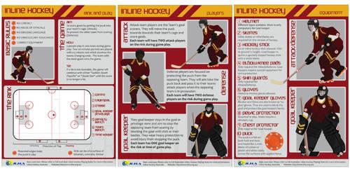 Inline Hockey Poster Design