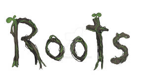 Roots - Illustrated logotype