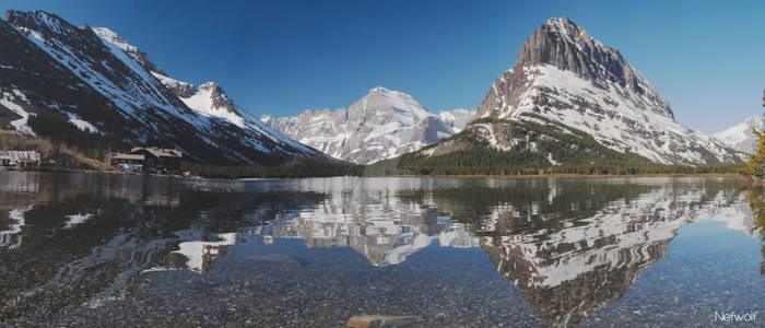 Many Glacier Lake