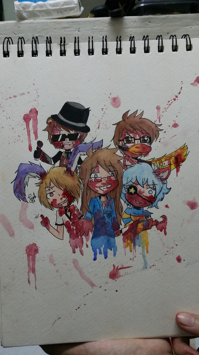 Minecraft FNAF AU by samix19