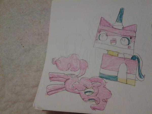 Unikitty and Pinkie Pie by Cookie-SkyUnikitty Pinkie Pie