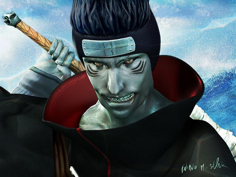 Veja Naruto em 3D