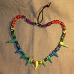 Dark Rainbow Necklace
