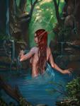 River Nymph - Avorkarth Illustration/Concept