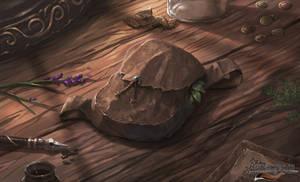 Adventurer's Satchel - Avorkarth Illustration