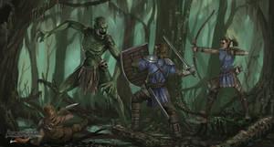 Swamp Troll - Avorkarth Illustration
