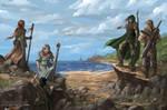 Coast of Karthia - Avorkarth Illustration