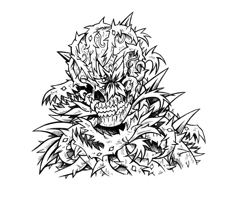 Images Of Dope Weed Coloring Pages Rock Cafe