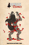 Crimson Dames - Babette - Wolf Form