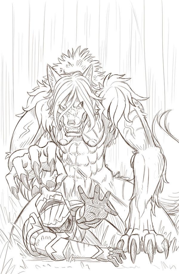 Shewolf Stalker - Patreon Reward! by Paladin-Ciel