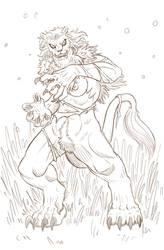 Maned Lioness - Patreon Reward! by Paladin-Ciel
