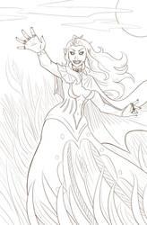 Lady Dolingen Beckons - Patreon Reward! by Paladin-Ciel