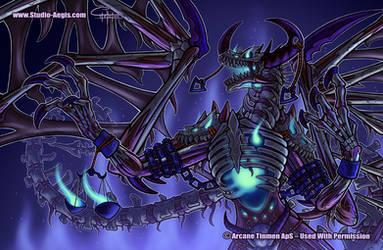 Dragon Shield - Bone Dragon