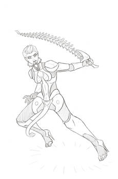 Xena - Sketch Request