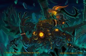 Dragon Shield - Horrific Dragon