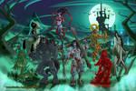 Ladies Of Halloween by Paladin-Ciel