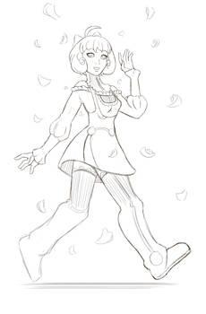Penny - Sketch Reward!