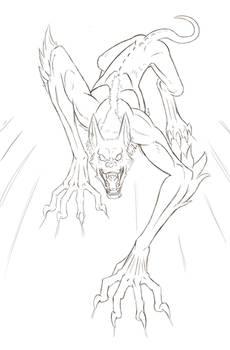 Longwolf (Sketch Reward!)