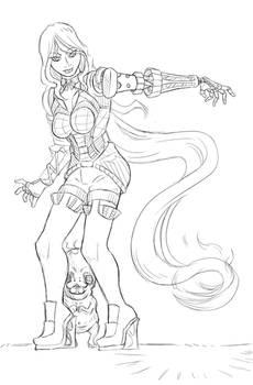 lady Flamel (Sketch Reward!)