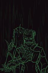 Wicked Couple  (Sketch Reward!)