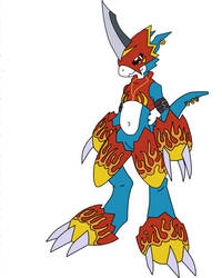 Introducing Jake The Flamedramon First Design