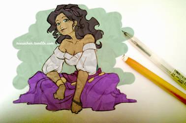 Esmeralda by nuexxchen