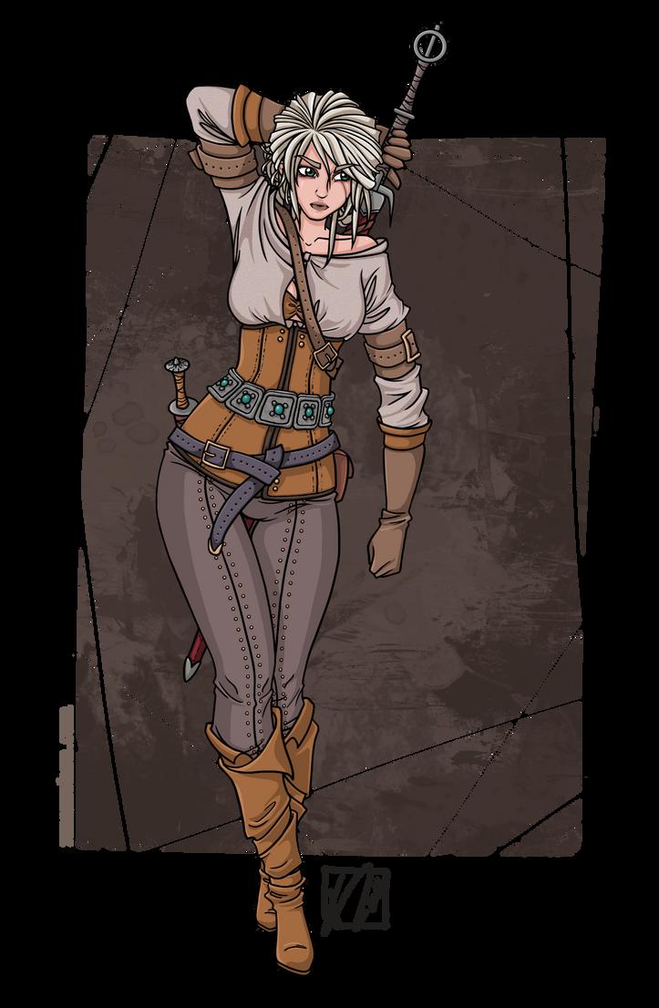 Ciri - The Witcher 3 by nuexxchen