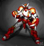 Megaman meets Mech - Cutman