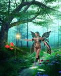 Fairy Walk by KittysTavern