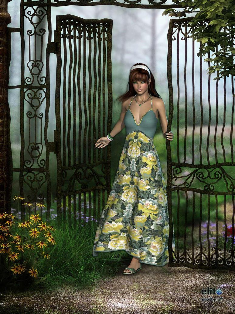 Garden Gate By KittysTavern ...