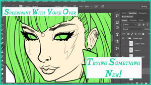 Trying Something New And Pizzazz Speedpaint