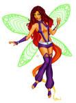 Starfire Fairy by KittysTavern