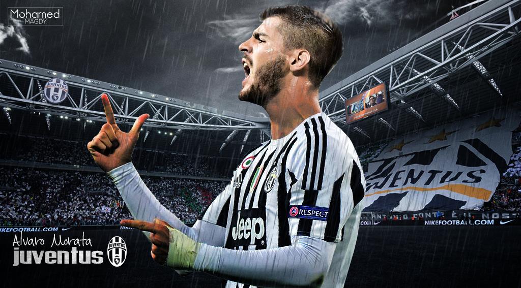 Alvaro Morata Wallpaper (Juventus) By Mohamedzsc On DeviantArt
