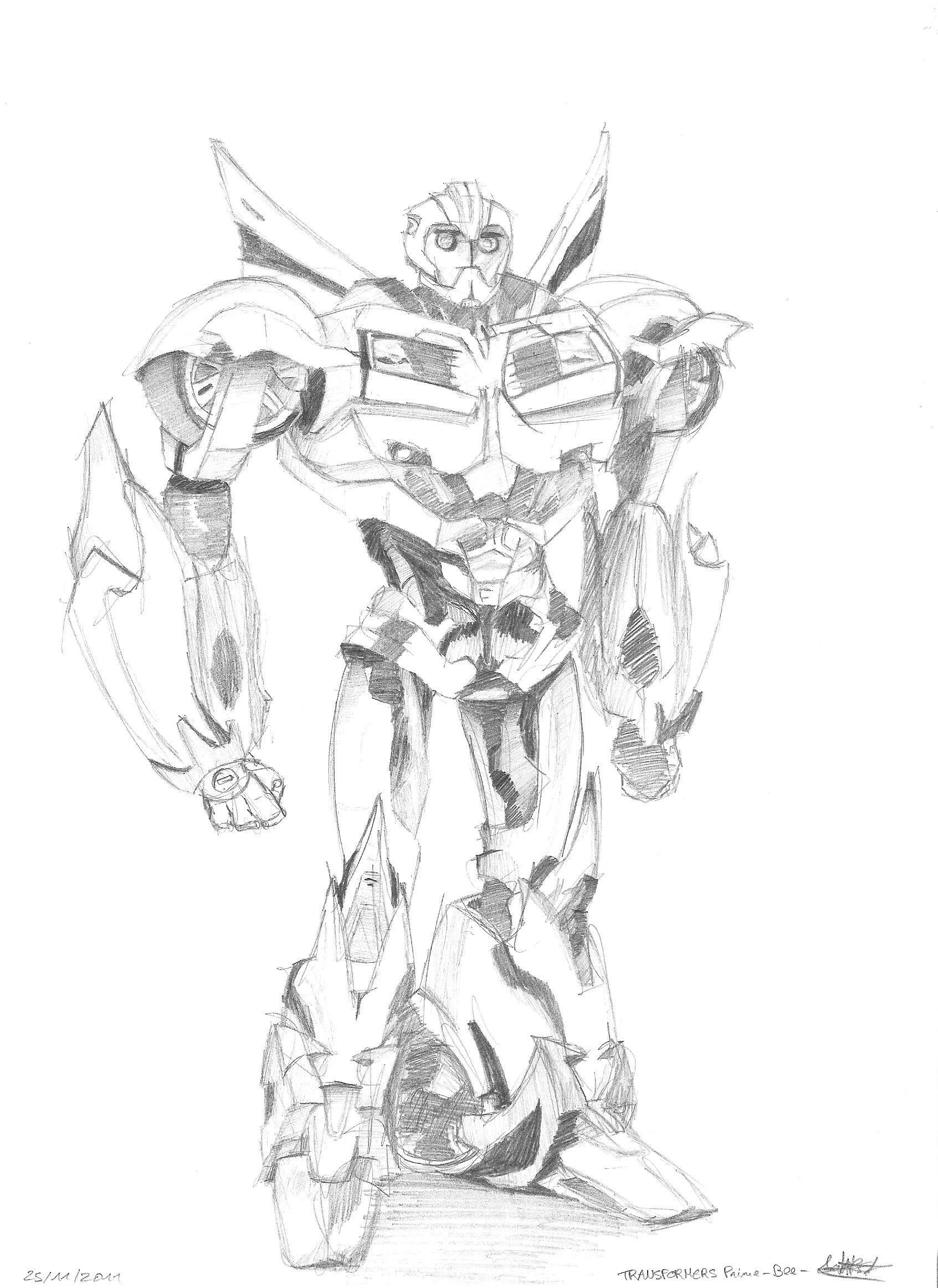 disegni da colorare transformers movie