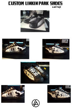 CUSTOM LINKIN PARK SHOES