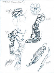 TAHU (Generation 2) Concept Art