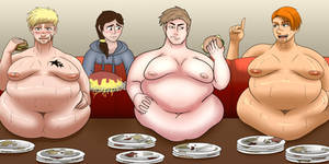 Eating competition-COLLAB